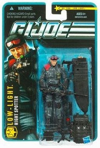 GI Joe Pursuit of Cobra 3 3/4 Inch Action Figure Low-Light [Night Spotter]