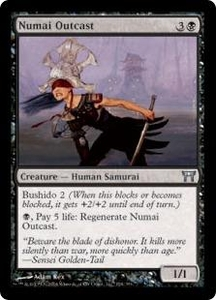 Magic the Gathering Champions of Kamigawa Single Card Uncommon #134 Numai Outcast