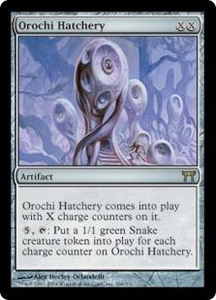 Magic the Gathering Champions of Kamigawa Single Card Rare #266 Orochi Hatchery