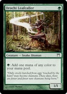 Magic the Gathering Champions of Kamigawa Single Card Common #234 Orochi Leafcaller