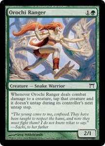 Magic the Gathering Champions of Kamigawa Single Card Common #235 Orochi Ranger