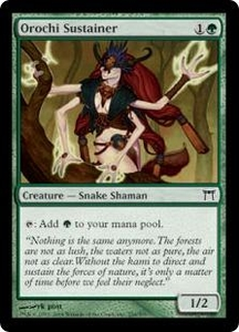 Magic the Gathering Champions of Kamigawa Single Card Common #236 Orochi Sustainer