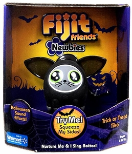 Fijit Friends Newbies Interactive Toy Trick or Treat Tika [Black]