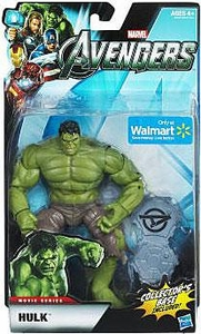 Marvel Legends Avengers Movie Exclusive 6 Inch Action Figure Hulk [Includes Collector's Base]