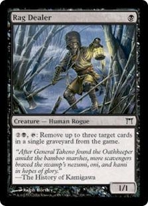 Magic the Gathering Champions of Kamigawa Single Card Common #138 Rag Dealer