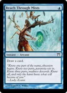 Magic the Gathering Champions of Kamigawa Single Card Common #81 Reach Through Mists