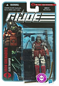 GI Joe Pursuit of Cobra 3 3/4 Inch Action Figure Iron Grenadier [Elite Trooper]