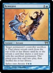 Magic the Gathering Champions of Kamigawa Single Card Rare #82 Reweave