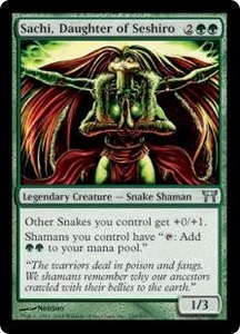 Magic the Gathering Champions of Kamigawa Single Card Uncommon #238 Sachi, Daughter of Seshiro