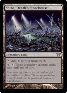 Magic the Gathering Champions of Kamigawa Single Card Rare #283 Shizo, Death's Storehouse