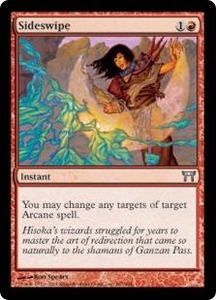 Magic the Gathering Champions of Kamigawa Single Card Uncommon #187 Sideswipe