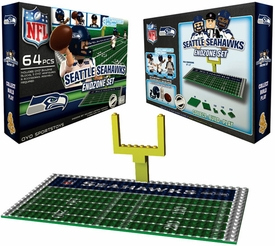 OYO Football NFL Generation 1 Team Field Endzone Set Seattle Seahawks