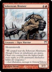 Magic the Gathering Champions of Kamigawa Single Card Common #188 Sokenzan Bruiser