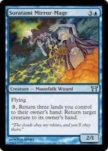 Magic the Gathering Champions of Kamigawa Single Card Uncommon #88 Soratami Mirror-Mage