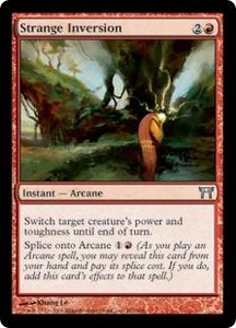 Magic the Gathering Champions of Kamigawa Single Card Uncommon #192 Strange Inversion