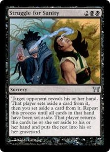 Magic the Gathering Champions of Kamigawa Single Card Uncommon #145 Struggle for Sanity