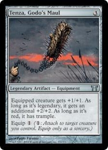 Magic the Gathering Champions of Kamigawa Single Card Uncommon #271 Tenza, Godo's Maul