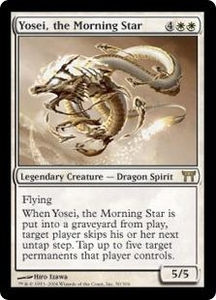 Magic the Gathering Champions of Kamigawa Single Card Rare #50 Yosei, the Morning Star