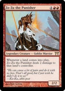 Magic the Gathering Champions of Kamigawa Single Card Rare #200 Zo-Zu the Punisher