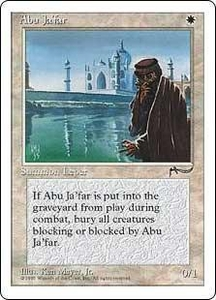 Magic the Gathering Chronicles Single Card Uncommon Abu Ja'far