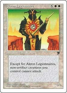 Magic the Gathering Chronicles Single Card Rare Akron Legionnaire