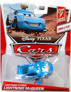 Disney / Pixar CARS Movie 1:55 Die Cast Car Lightning Storm Lightning McQueen [Lightning McQueens 2/5]