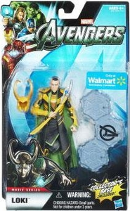 Marvel Legends Avengers Movie Exclusive 6 Inch Action Figure Loki [Includes Collector's Base]