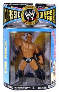 WWE Wrestling Classic Superstars Series 15 Action Figure The Rock [LJN Style]