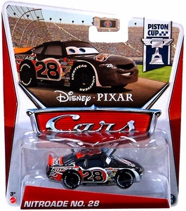 Disney / Pixar CARS Movie 1:55 Die Cast Car Nitroade No. 28 [Piston Cup 10/18]