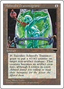 Magic the Gathering Chronicles Single Card Common Ashnod's Transmogrant