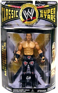 WWE Wrestling Classic Superstars Series 15 Action Figure Shawn Michaels