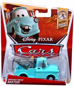 Disney / Pixar CARS Movie 1:55 Die Cast Car Brand New Mater [Retro Radiator Springs 5/8]