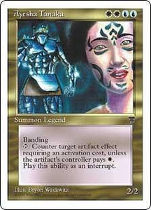 Magic the Gathering Chronicles Single Card Rare Ayesha Tanaka