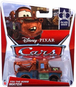 Disney / Pixar CARS Movie 1:55 Die Cast Car You the Bomb Mater [Palace Chaos 3/9]