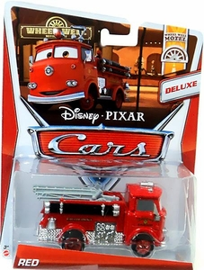 Disney / Pixar CARS MAINLINE 1:55 Die Cast Car Oversized Vehicle Red [Wheel Well Motel 3/11]
