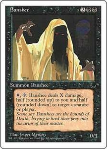 Magic the Gathering Chronicles Single Card Uncommon Banshee