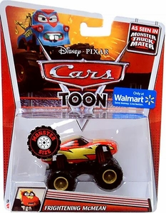 Disney / Pixar CARS TOON Exclusive 1:55 Die Cast Car Monster Size Vehicle Frightening McMean