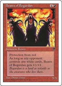 Magic the Gathering Chronicles Single Card Uncommon Beasts of Bogardan