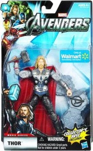 Marvel Legends Avengers Movie Exclusive 6 Inch Action Figure Thor [Includes Collector's Base]
