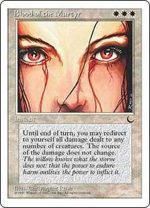 Magic the Gathering Chronicles Single Card Uncommon Blood of the Martyr