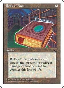 Magic the Gathering Chronicles Single Card Rare Book of Rass