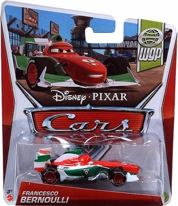 Disney / Pixar CARS Movie 1:55 Die Cast Car Francesco Bernoulli [WGP 2/17]