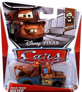 Disney / Pixar CARS Movie 1:55 Die Cast Car Race Team Mater [Maters 1/6]