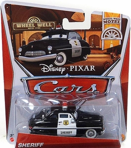 Disney / Pixar CARS Movie 1:55 Die Cast Car Sheriff [Wheel Well Motel 1/11]