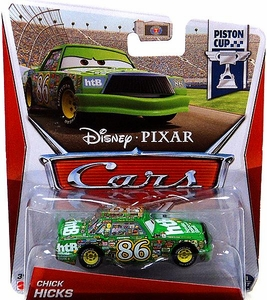 Disney / Pixar CARS Movie 1:55 Die Cast Car Chick Hicks [Piston Cup 1/18]
