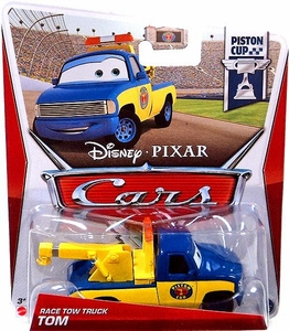 Disney / Pixar CARS Movie 1:55 Die Cast Car Race Tow Truck Tom [Piston Cup 2/18]
