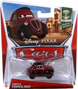 Disney / Pixar CARS Movie 1:55 Die Cast Car Uncle Topolino [Festival Italiano 1/10]