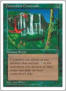 Magic the Gathering Chronicles Single Card Rare Concordant Crossroads
