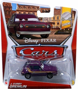 Disney / Pixar CARS Movie 1:55 Die Cast Car J. Curby Gremlin [Lemons 1/7]