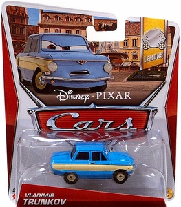 Disney / Pixar CARS Movie 1:55 Die Cast Car Vladimir Trunkov [Lemons 2/7]
